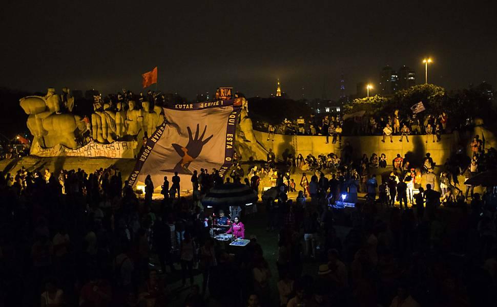 Protesto Fora Temer domingo na Paulista