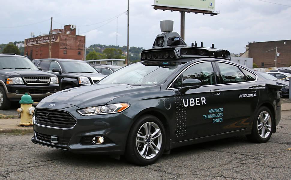 Uber investe em carro sem motorista