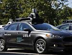 Grupo de carros autônomos do Uber levou jornalistas para dar uma volta