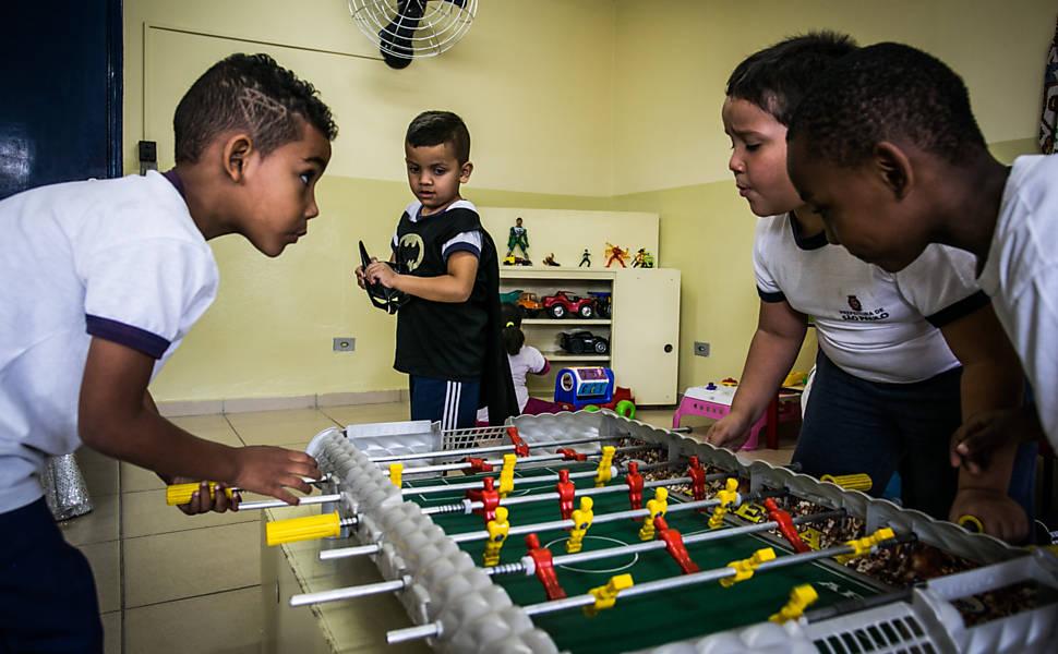 Escola Nelson Mandela, no bairro do Limão (zona norte de São Paulo)