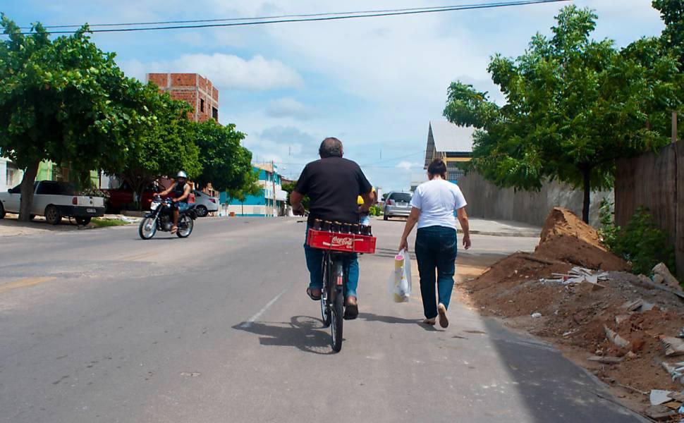 Transite, os brasileiros e suas bicicletas