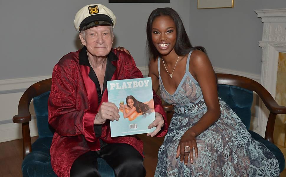 Hugh Hefner, fundador da 'Playboy'