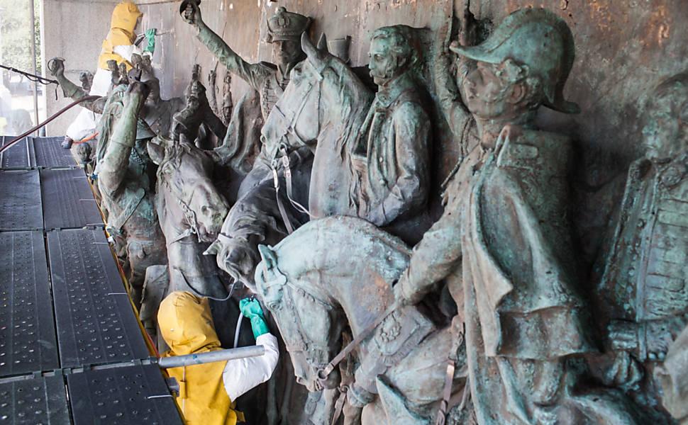 Restauração do Monumento à Independência, no Ipiranga