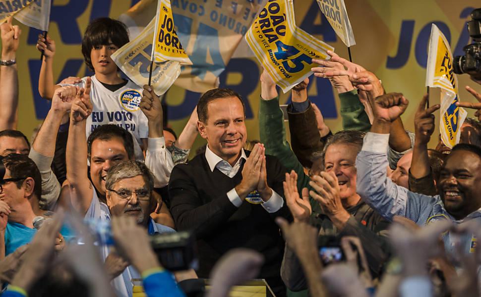 Vitória de João Doria na eleição de 2016