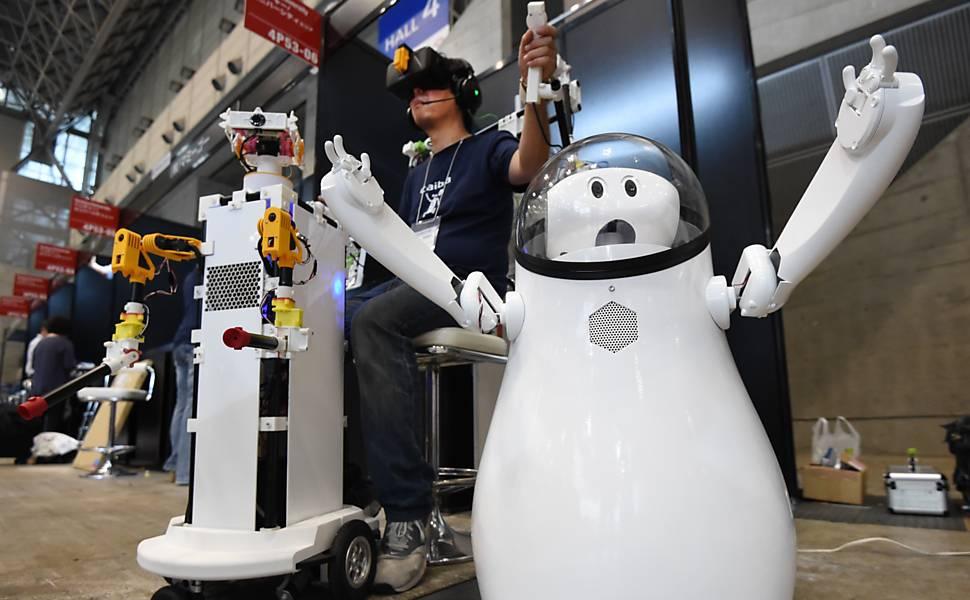 Inteligência de Robôs Ainda não Pode ser Comparada a de Humanos