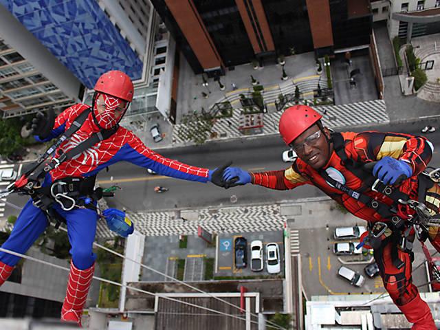 Heróis escaladores