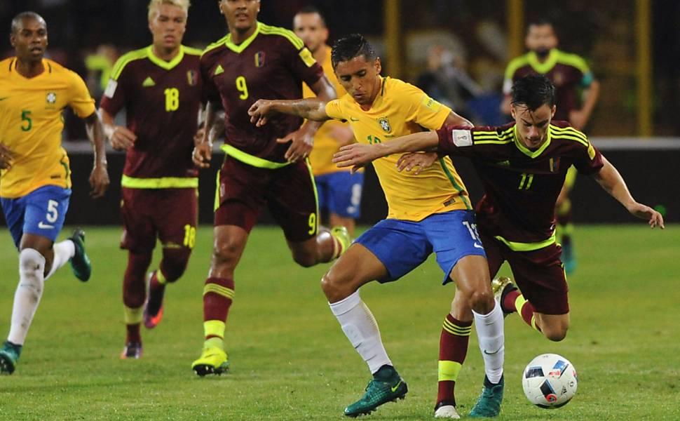 Eliminatórias Copa 2018: Venezuela x Brasil