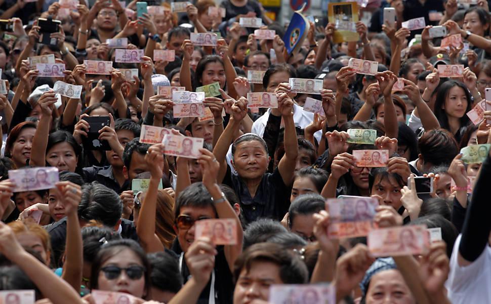 Funeral do rei da Tailândia