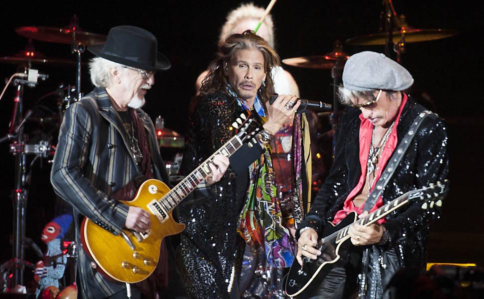 Aerosmith faz show em SP