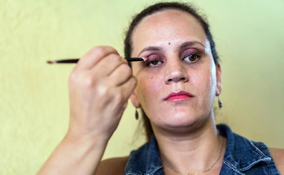 Maquiagem em Braile