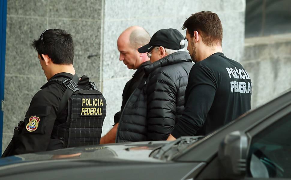 Alguns dos principais presos da Operação Lava Jato