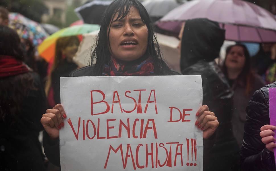 Greve de mulheres na Argentina