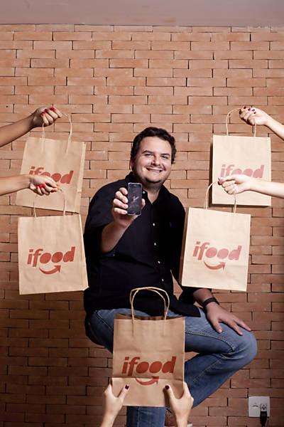 ifood e a comida em casa