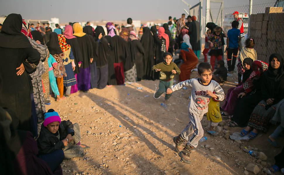 Campo de refugiados de Hansansham (Iraque)