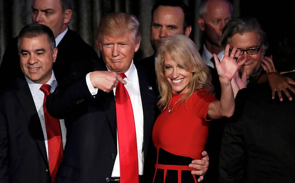 Momentos da campanha de Trump