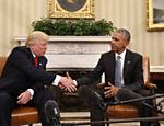 Presidente eleito afirma esperar manter contato e pedir conselhos a Obama
