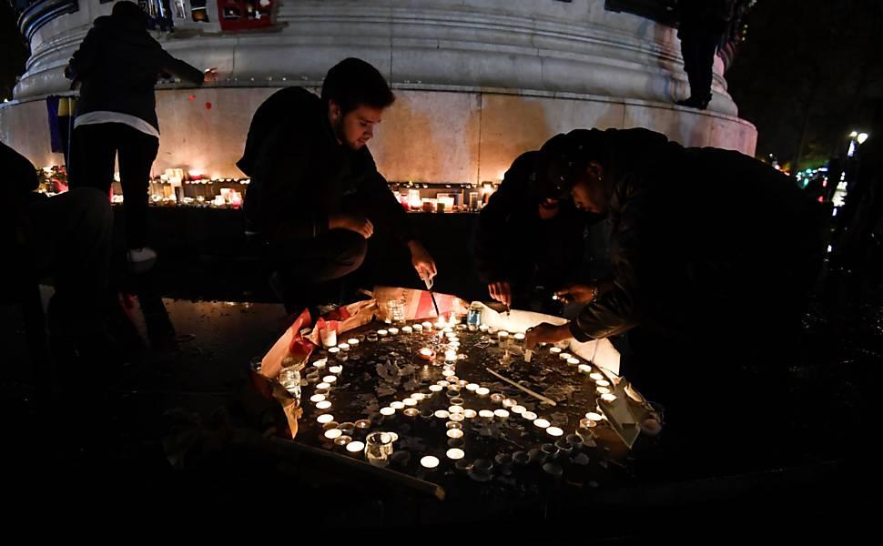 Um ano dos atentados terroristas na França