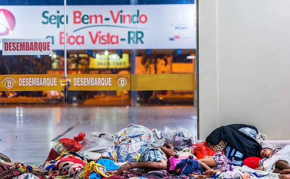 Invasão venezuelana gera caos em Roraima