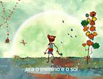 Imagem do app Crianceiras, de Márcio de Camillo, em que o artista musica poemas de Manoel de Barros para crianças