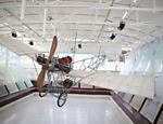 Réplica em tamanho real da aeronave Demoiselle