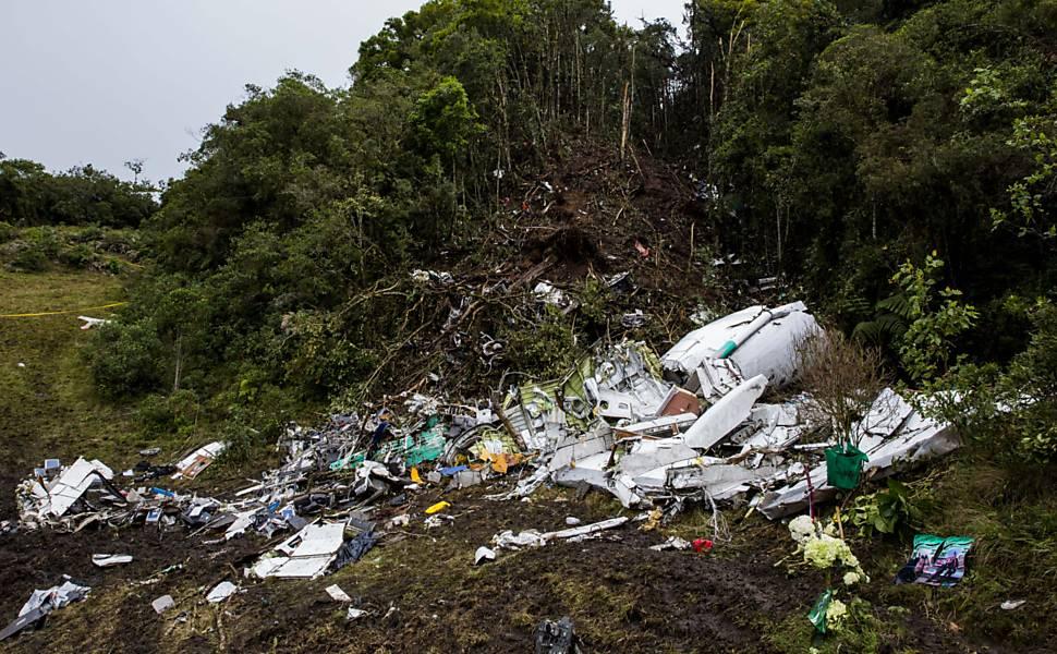 Acidente no vale de Cerro Gordo, na Colômbia