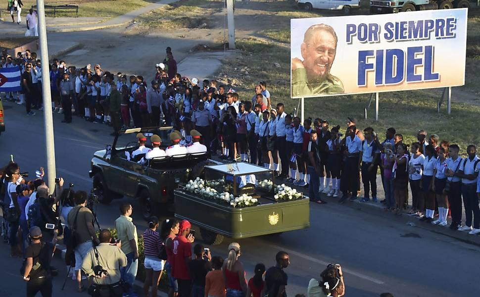 Último adeus a Fidel Castro