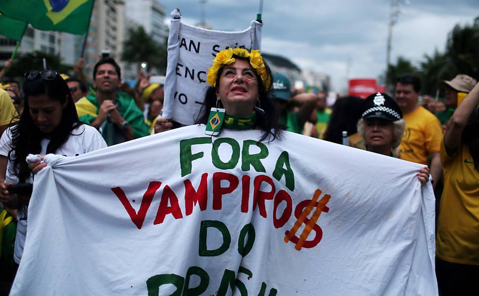 Protesto contra a Corrupção pelo Brasil