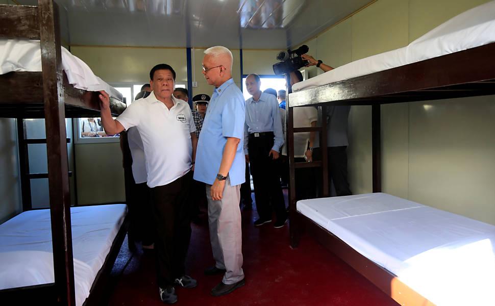 Campanha contra drogas nas Filipinas
