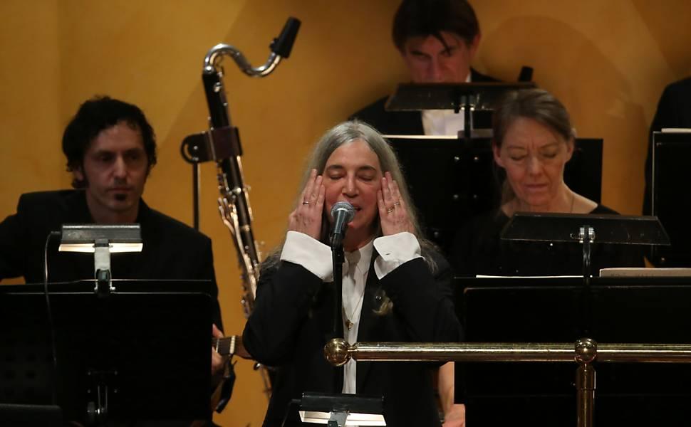 Patti Smith no prêmio Nobel