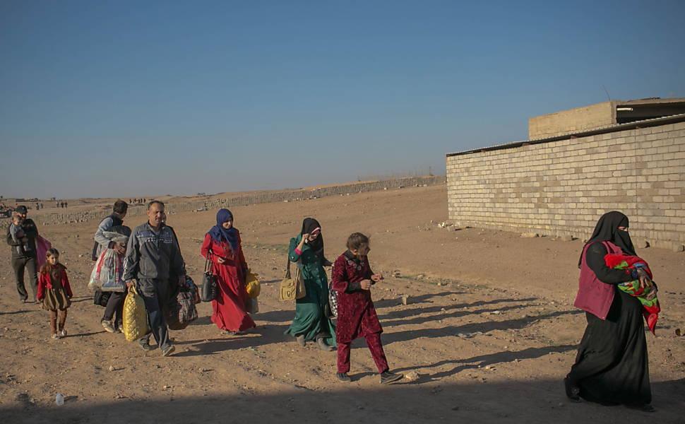 As vítimas da batalha por Mossul, no Iraque