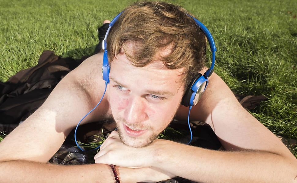 Refúgio no fone de ouvido