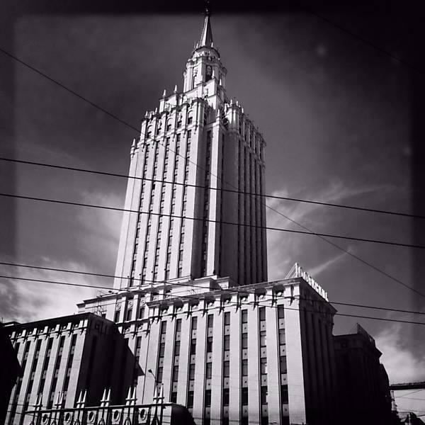 Símbolos da URSS em Moscou, 25 anos depois