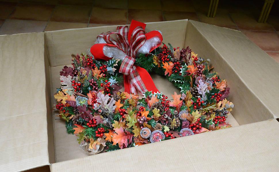 Como guardar corretamente a decoração de Natal