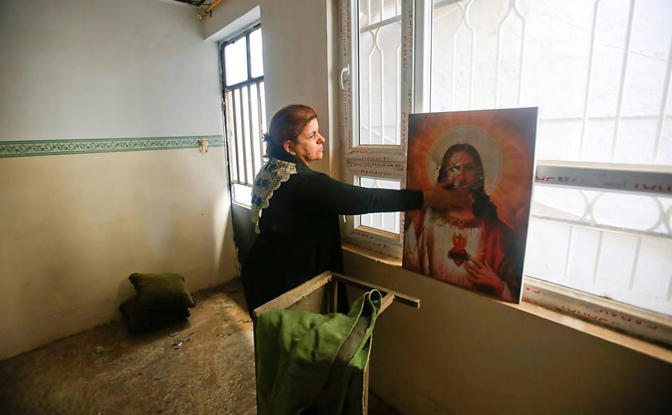 Cristãos iraquianos voltam a suas cidades