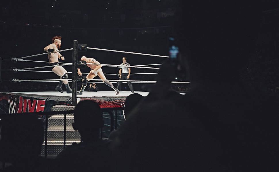 Luta livre: WWE na China