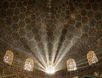 Interior da mesquita de Sheikh Lotfallah, em Isfahan