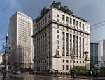 O edifício Matarazzo, também conhecido como Palácio do Anhangabaú, é a sede da prefeitura da cidade de São Paulo desde 2004