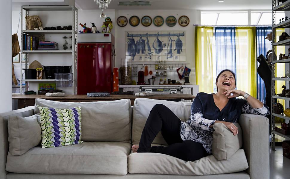Fafá de Belém em entrevista a Mônica Bergamo