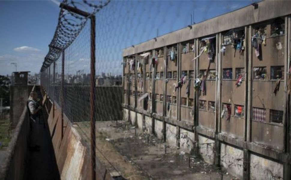 Aumento da população carcerária