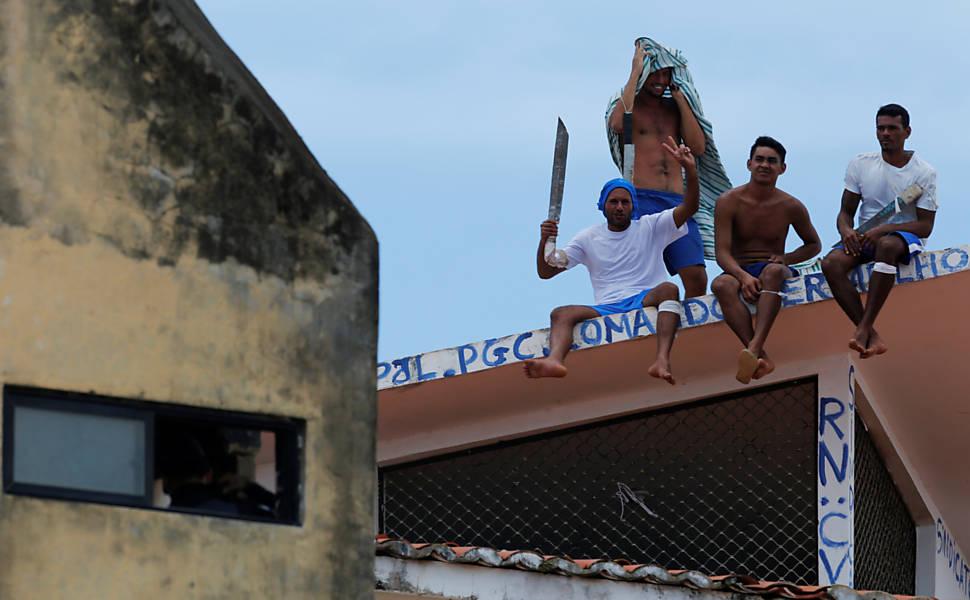 Rebelião em presídio do Rio Grande do Norte