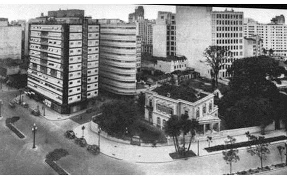 São Paulo antiga dos leitores