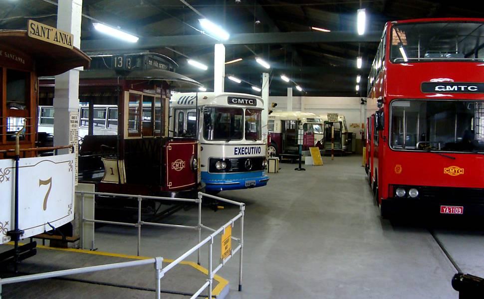 Museus de veículos em São Paulo