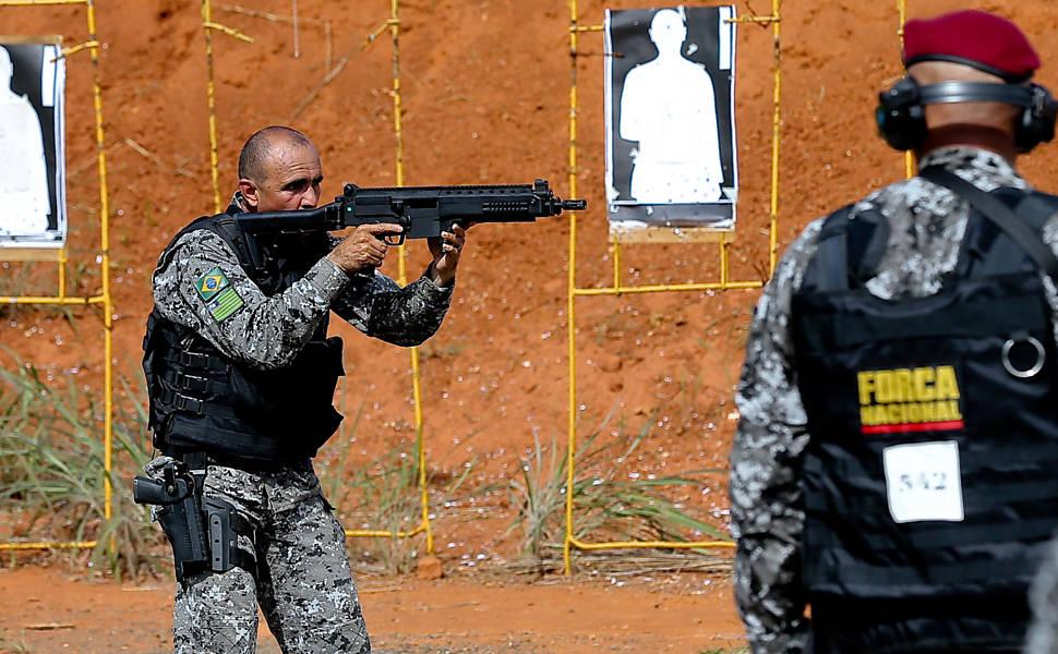 Treinamento da Força Nacional