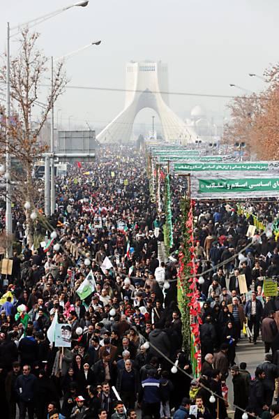 38º aniversário da Revolução Iraniana