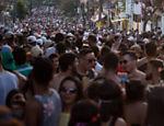 Carnaval de Rua no bairro da Vila Madalena, zona oeste da capital paulista, foi tomada pela musica funk