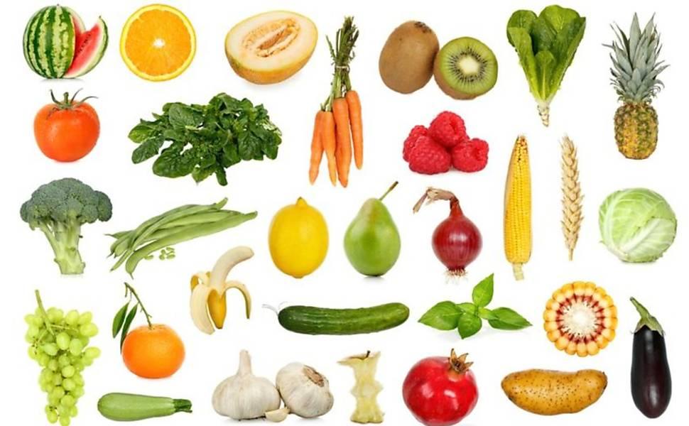 Cientistas recomendam frutas, verduras e legumes