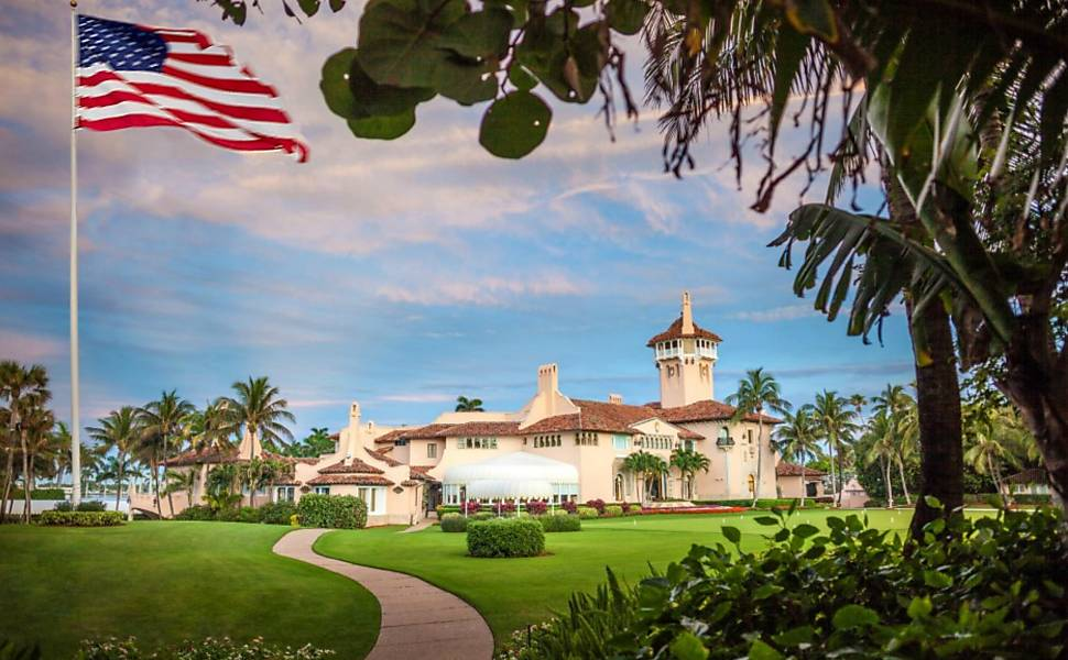 Mar-a-Lago, o resort de Trump na Florida