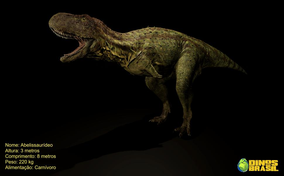 Dinossauros brasileiros em Realidade Virtual