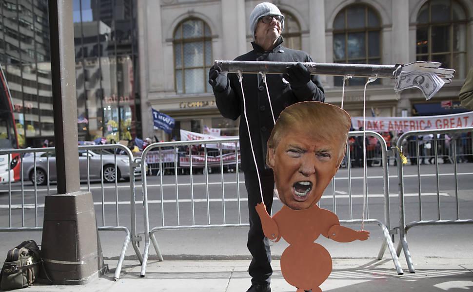 Atos pr�-Donald Trump