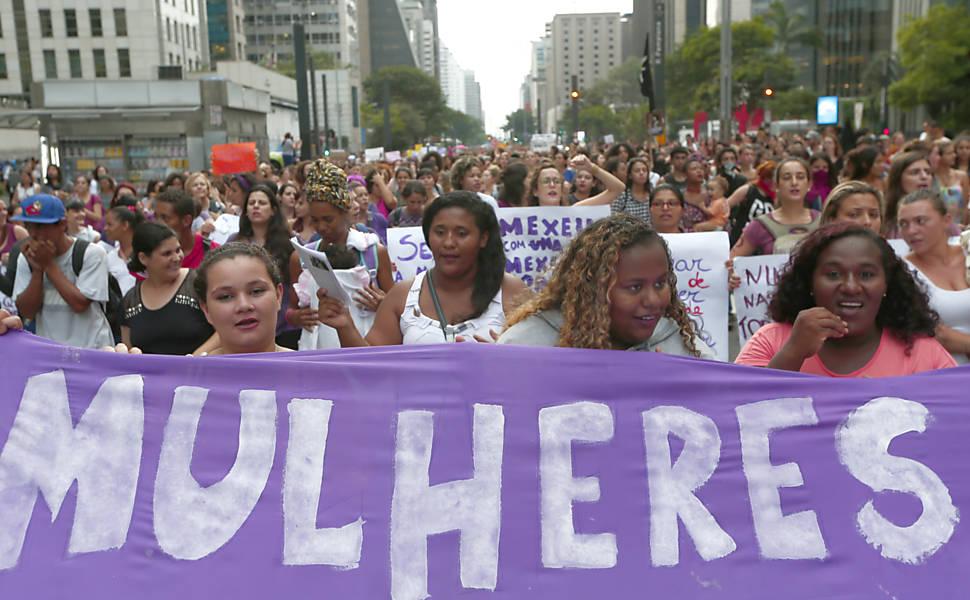 Mobilização das Mulheres na Paulista